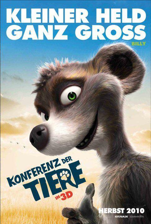 плакат фильма характер-постер Союз зверей в 3D