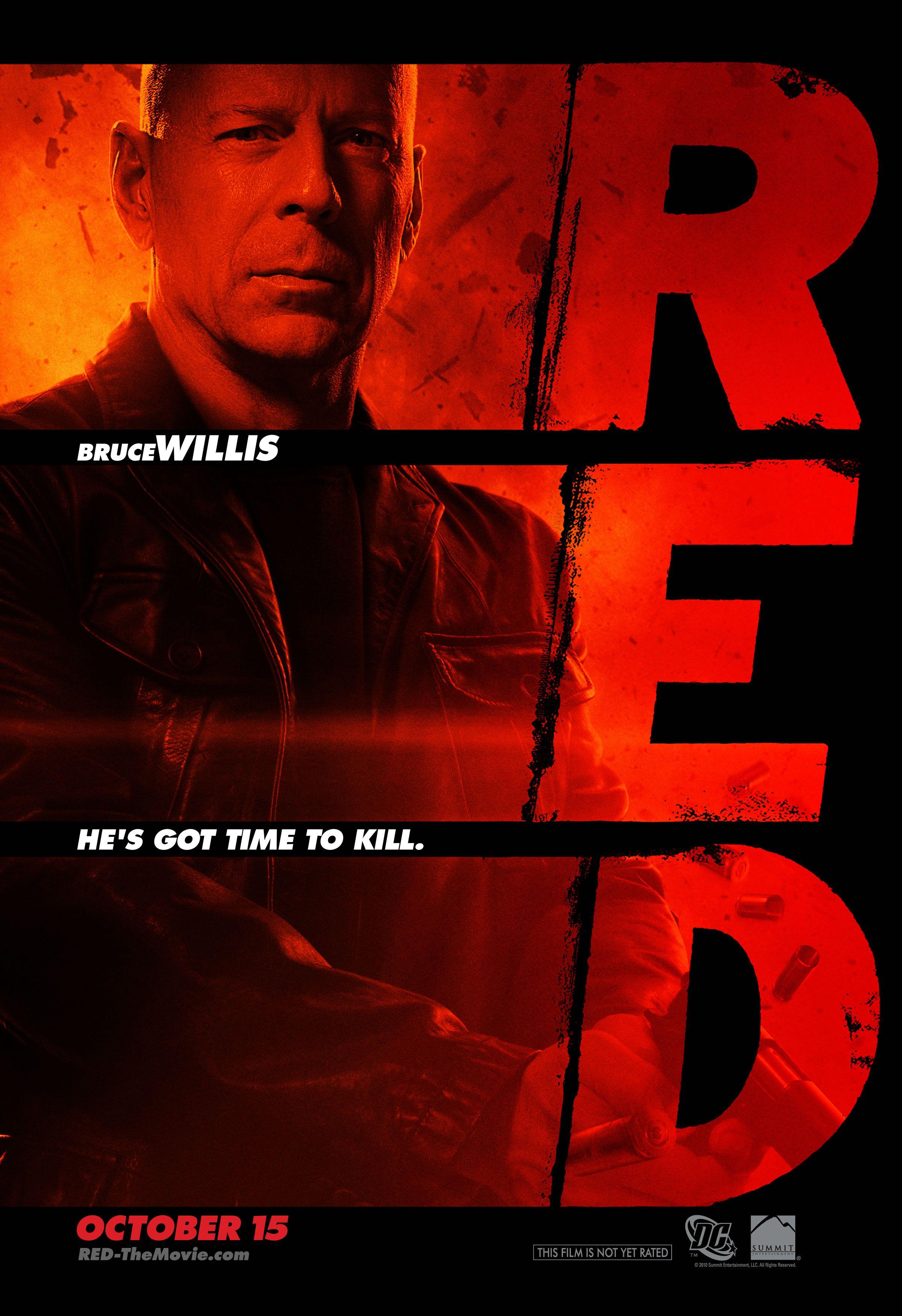 плакат фильма характер-постер РЭД
