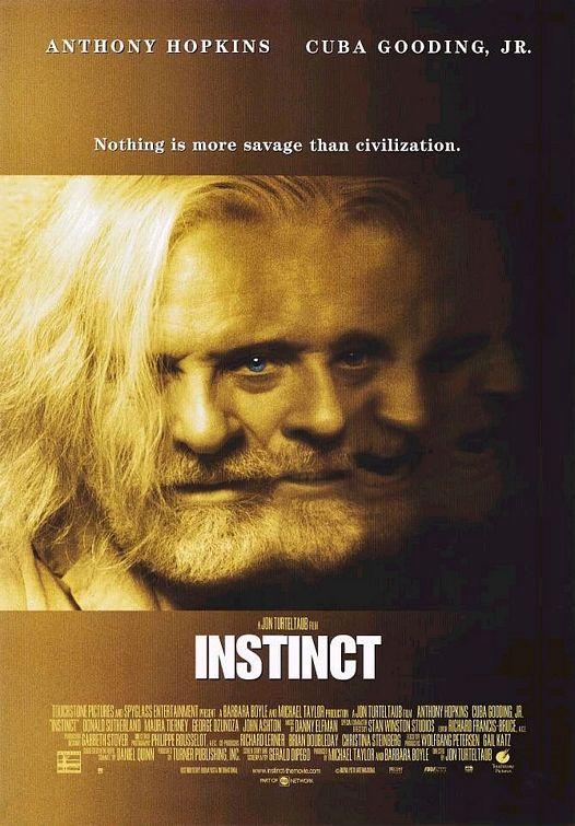 плакат фильма Инстинкт