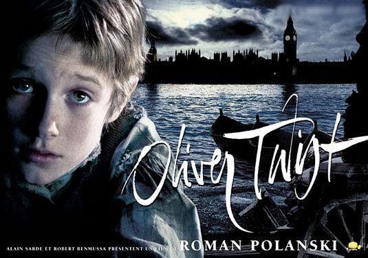 плакат фильма биллборды Оливер Твист