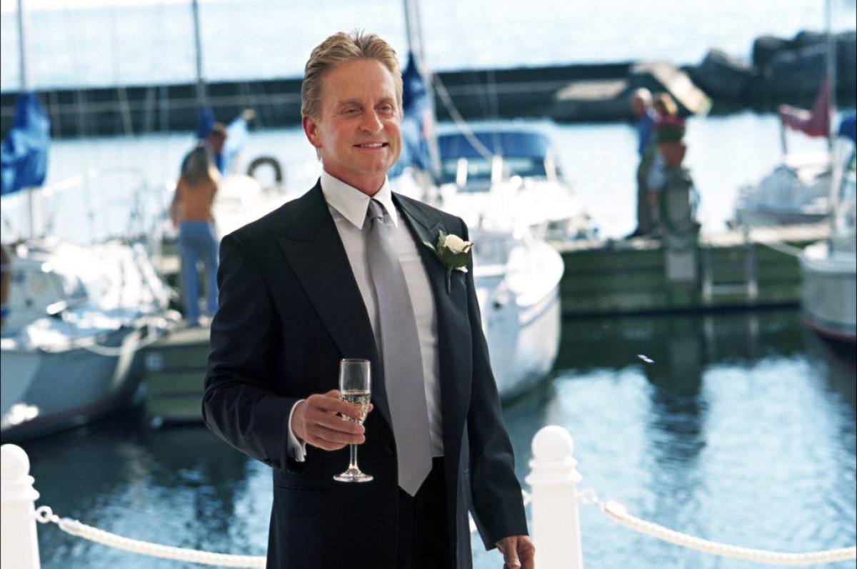 кадры из фильма Свадебная вечеринка Майкл Даглас,