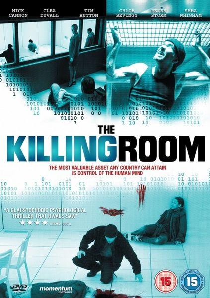 плакат фильма DVD Комната смерти