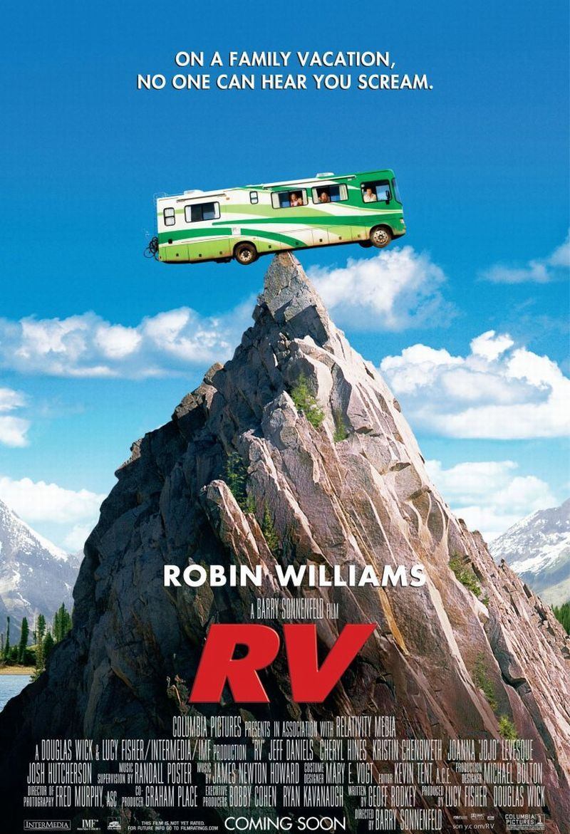 плакат фильма постер Дурдом на колесах