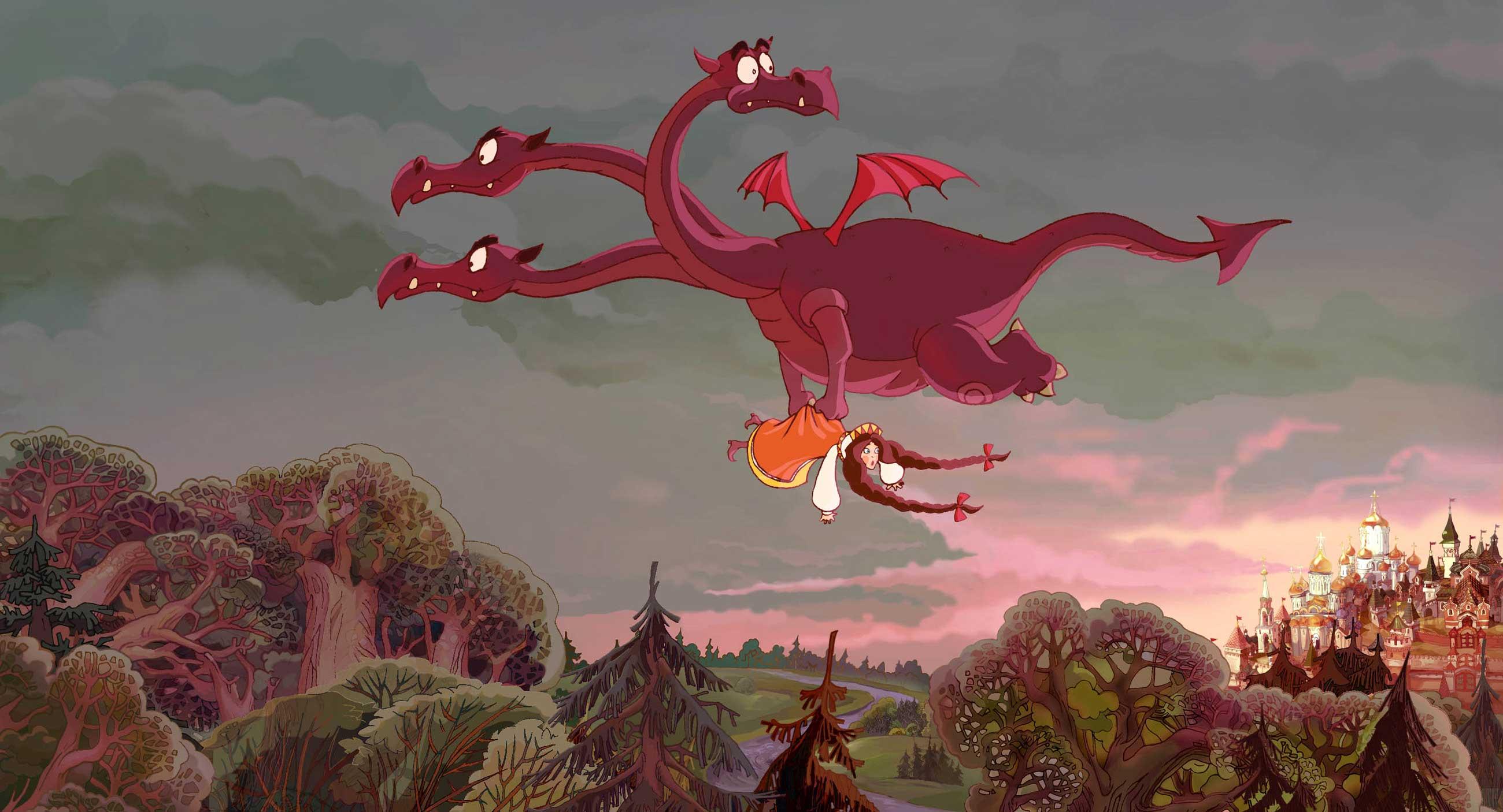 кадры из фильма Добрыня Никитич и Змей Горыныч