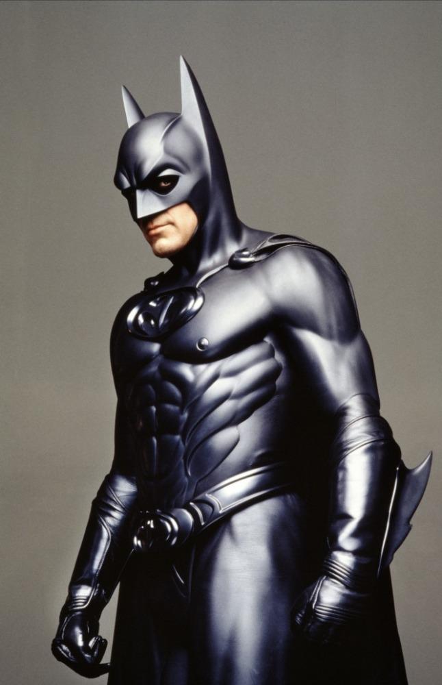промо-слайды Бэтмен и Робин Джордж Клуни,