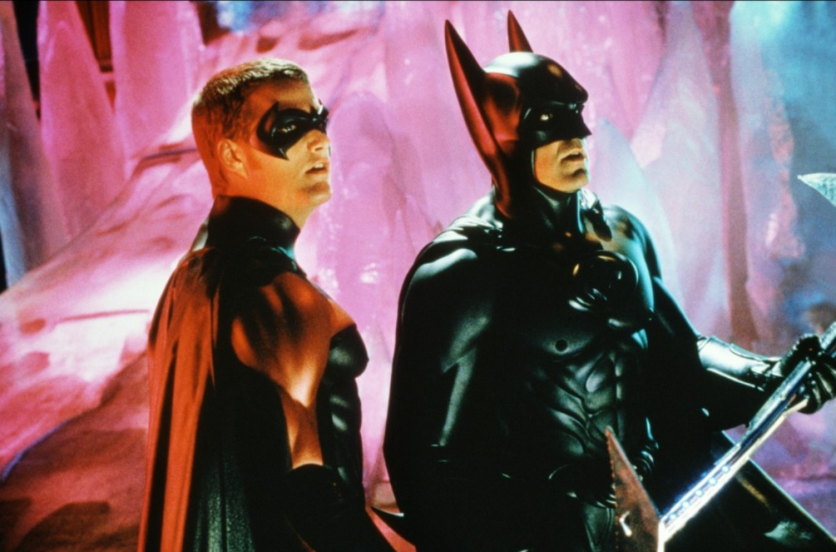 кадры из фильма Бэтмен и Робин Крис О'Доннелл, Джордж Клуни,