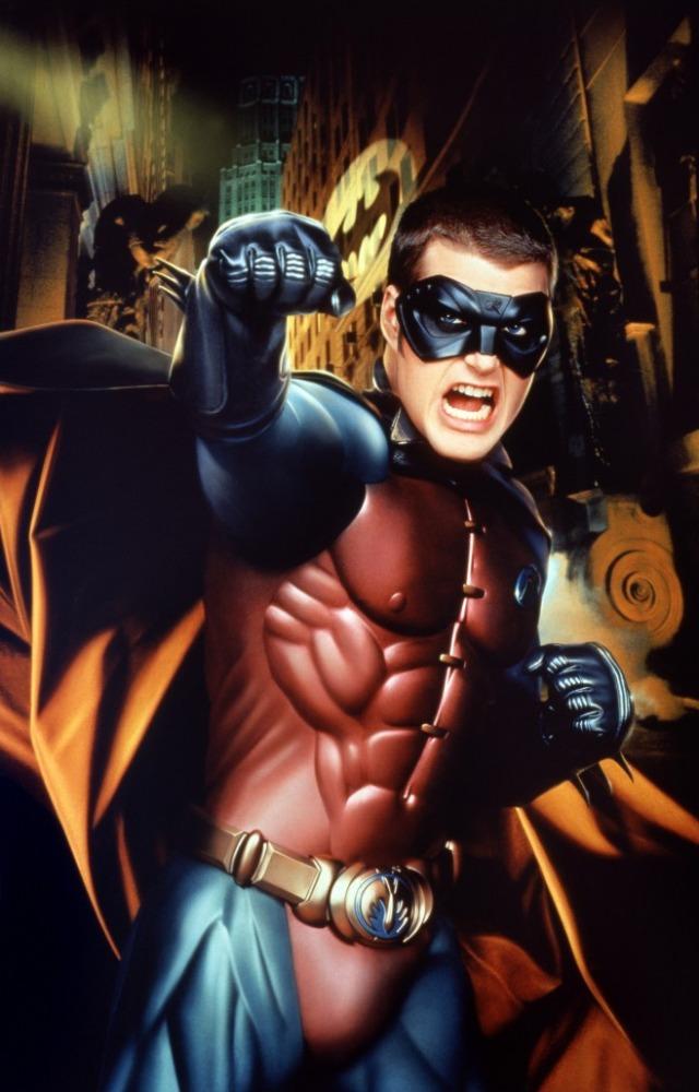промо-слайды Бэтмен навсегда Крис О'Доннелл,