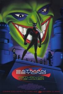 плакат фильма DVD Бэтмен будущего: Возвращение Джокера*