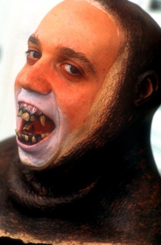 со съемок Планета обезьян Пол Джиаматти,