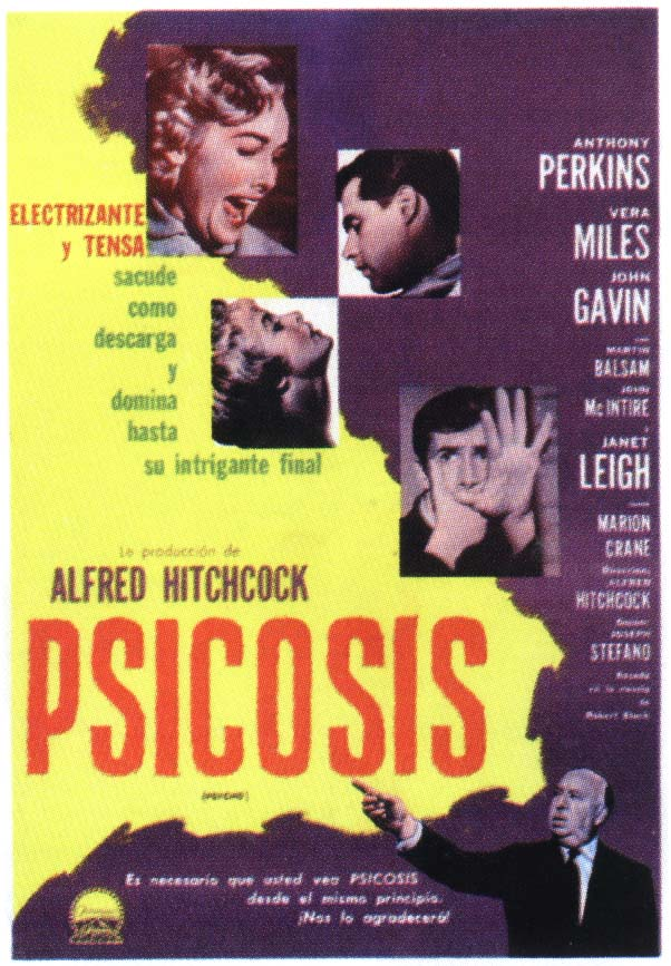 an analysis of psycho by alfred hitchcock