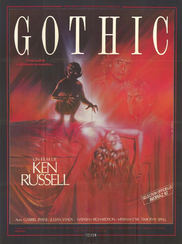 плакат фильма постер В готическом стиле