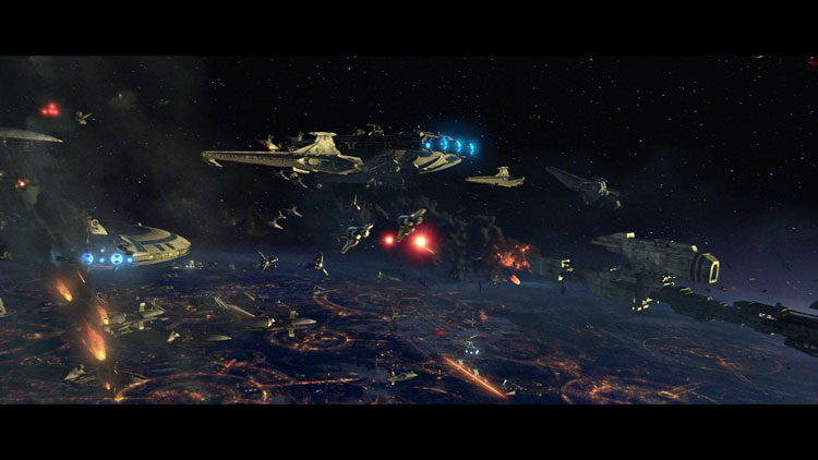 кадры из фильма Звездные войны: Эпизод III — Месть ситхов