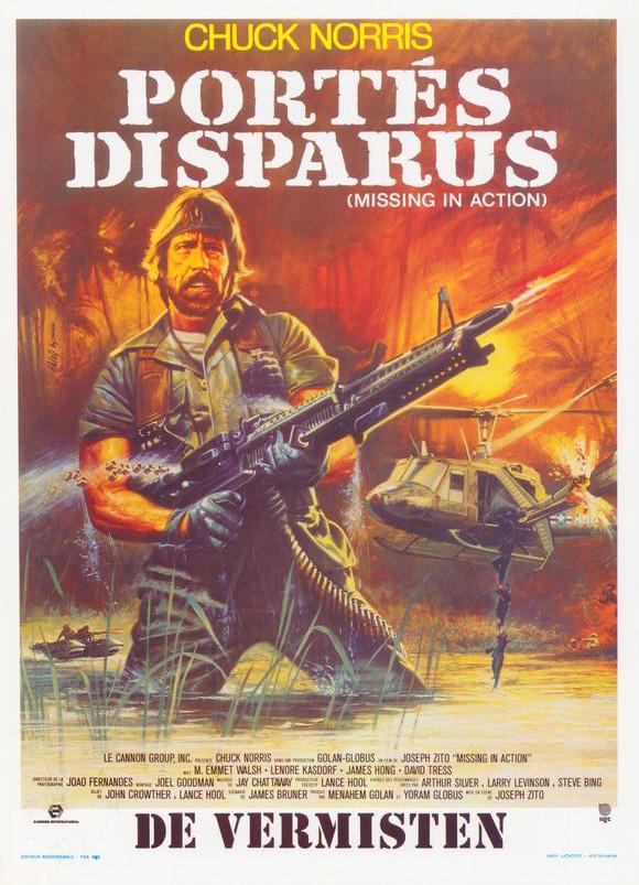 плакат фильма постер Пропавшие без вести
