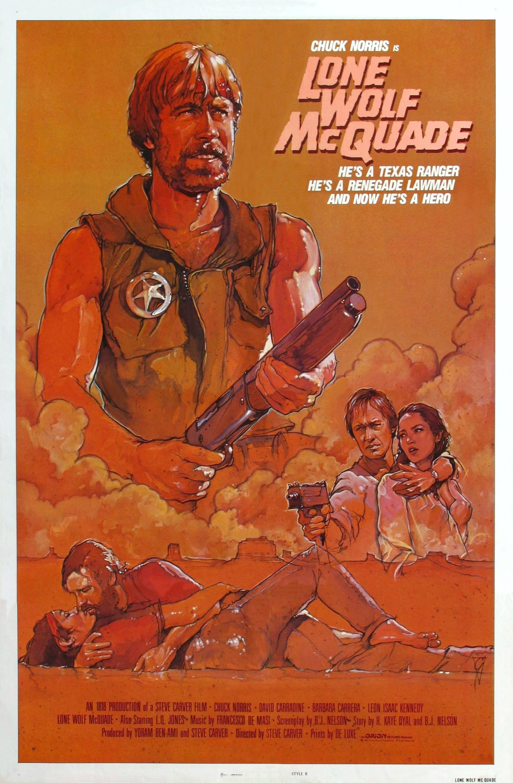 плакат фильма постер Одинокий волк МакКуэйд