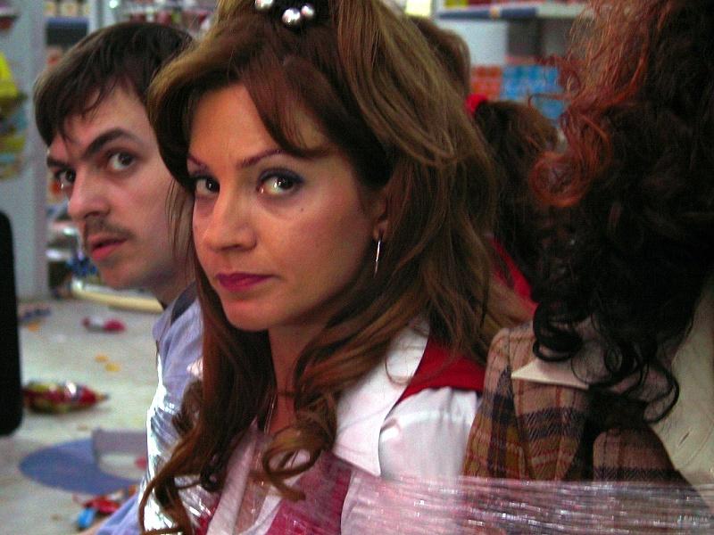 кадры из фильма Клубничка в супермаркете