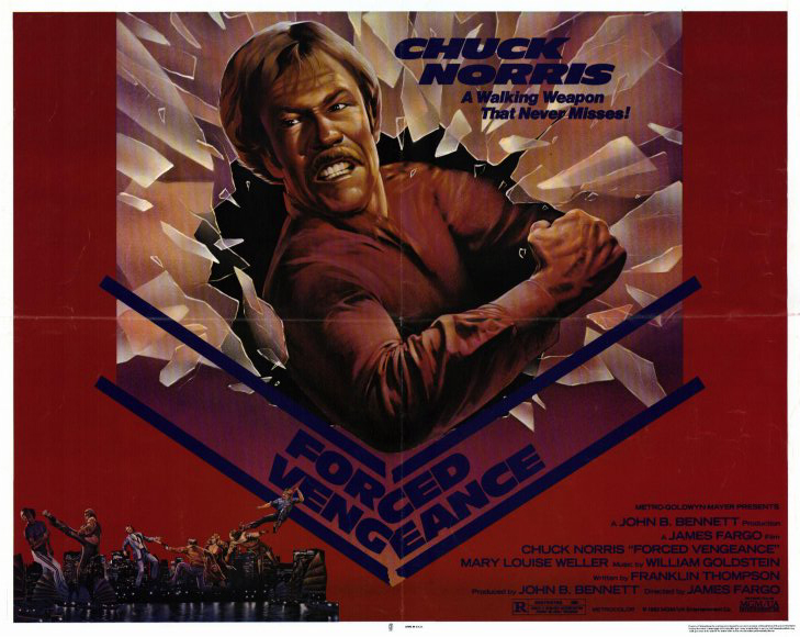 плакат фильма биллборды Вынужденная месть