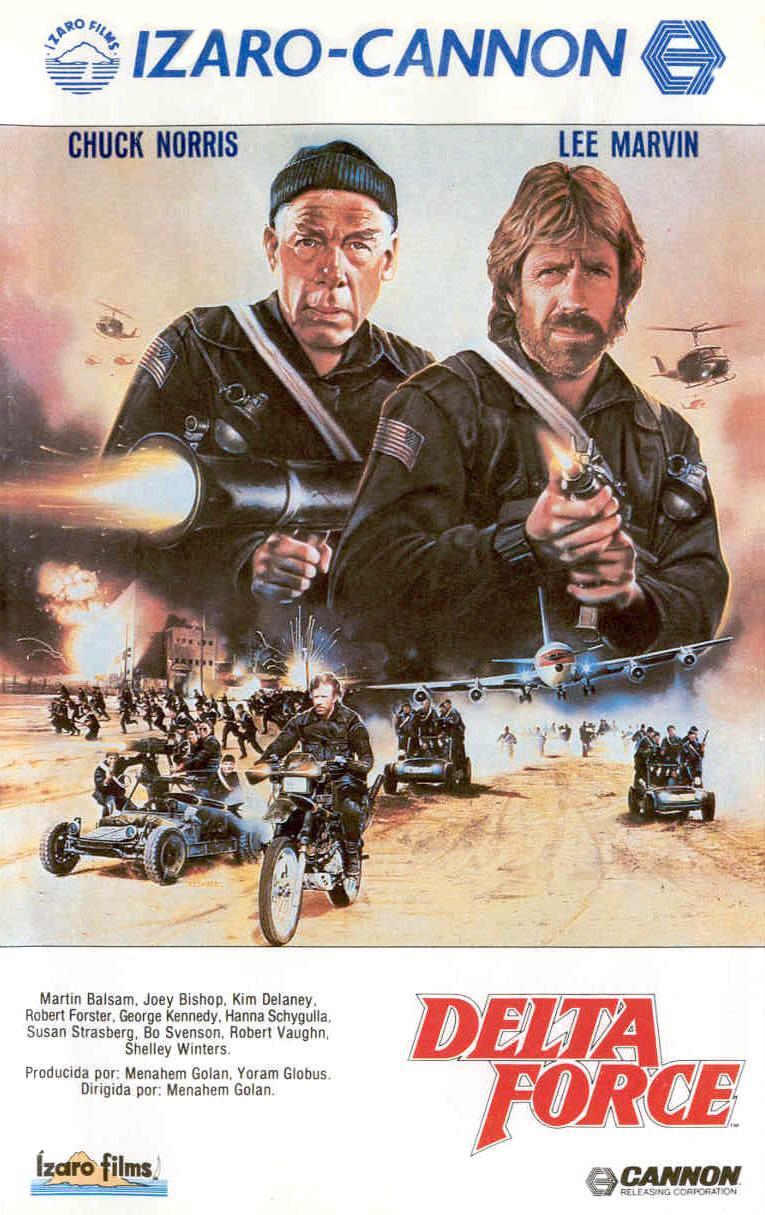плакат фильма постер Подразделение «Дельта»