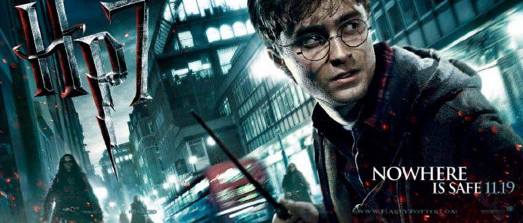 плакат фильма характер-постер баннер Гарри Поттер и Дары Смерти: Часть первая