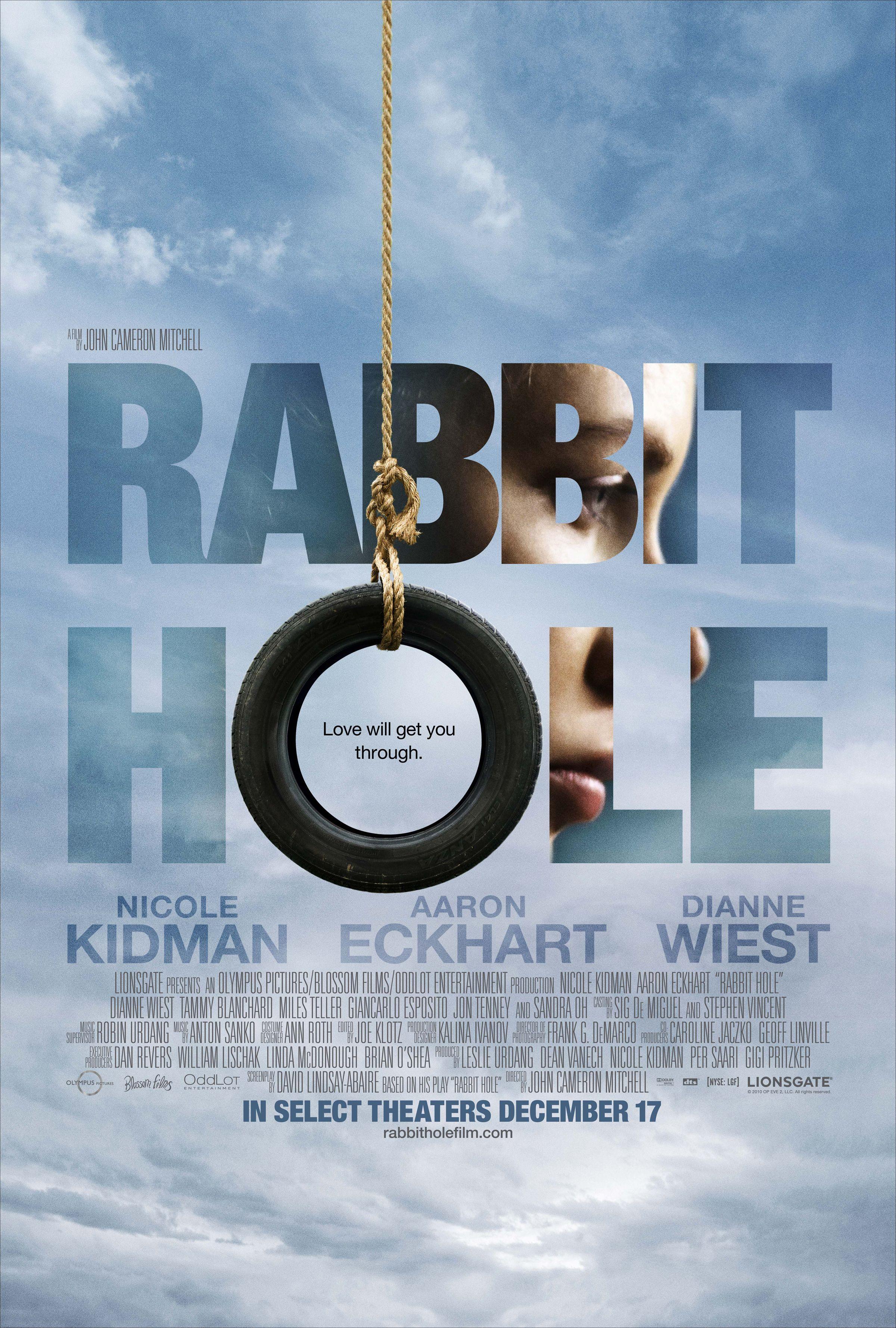 плакат фильма тизер Кроличья нора