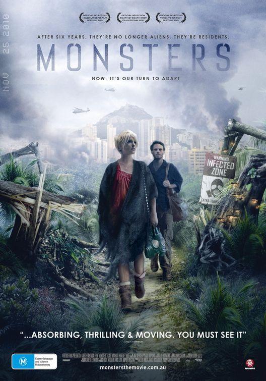 плакат фильма постер Монстры