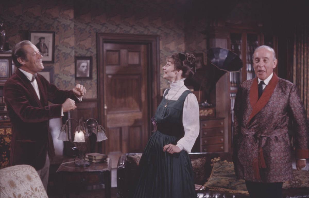 кадры из фильма Моя прекрасная леди Рекс Харрисон, Одри Хепберн,