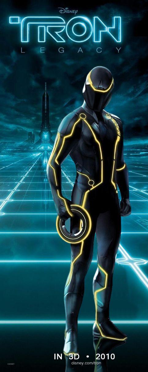 плакат фильма характер-постер Трон: Наследие