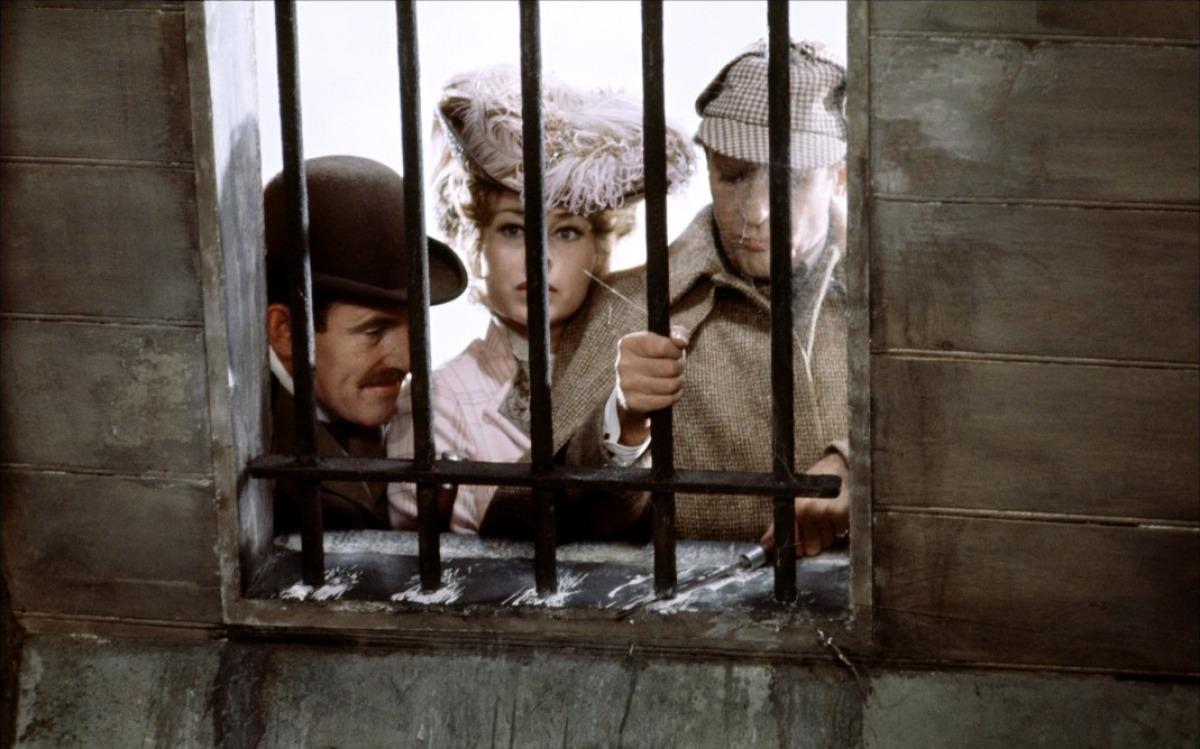кадры из фильма Частная жизнь Шерлока Холмса Женевьев Пейдж, Колин Блейкли, Роберт Стивенс,