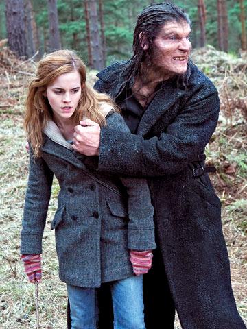 кадры из фильма Гарри Поттер и Дары Смерти: Часть первая Эмма Уотсон, Дэйв Леджено,