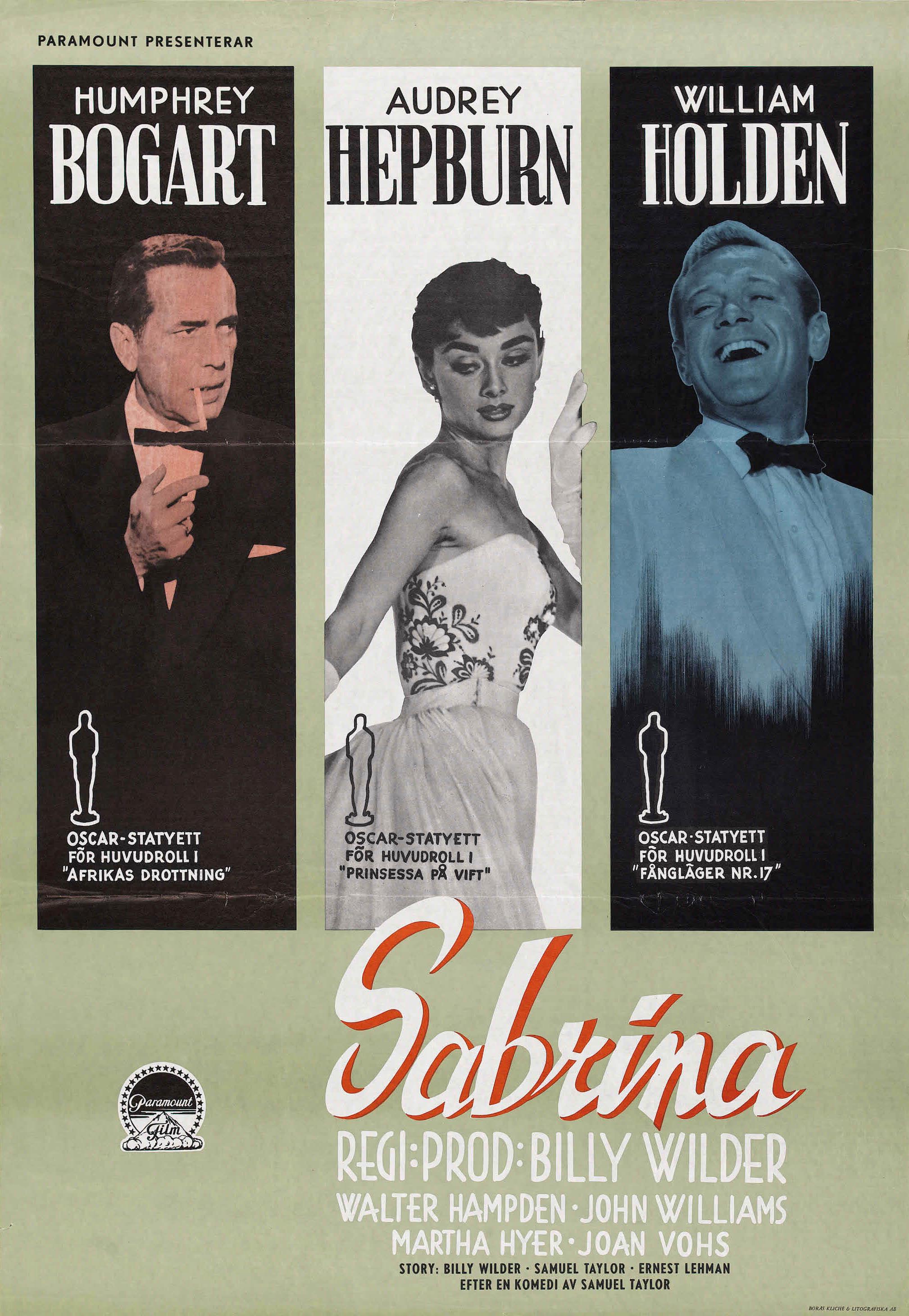плакат фильма постер Сабрина