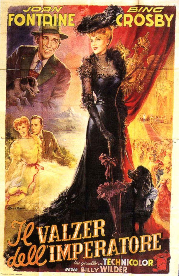 плакат фильма постер Императорский вальс