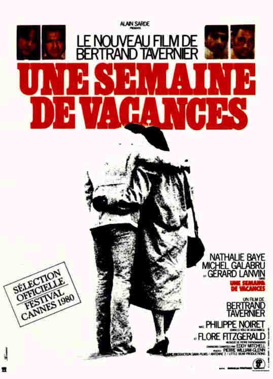 плакат фильма постер Неделя отпуска