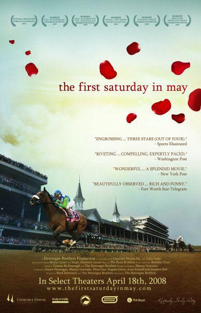 плакат фильма постер Первая суббота мая