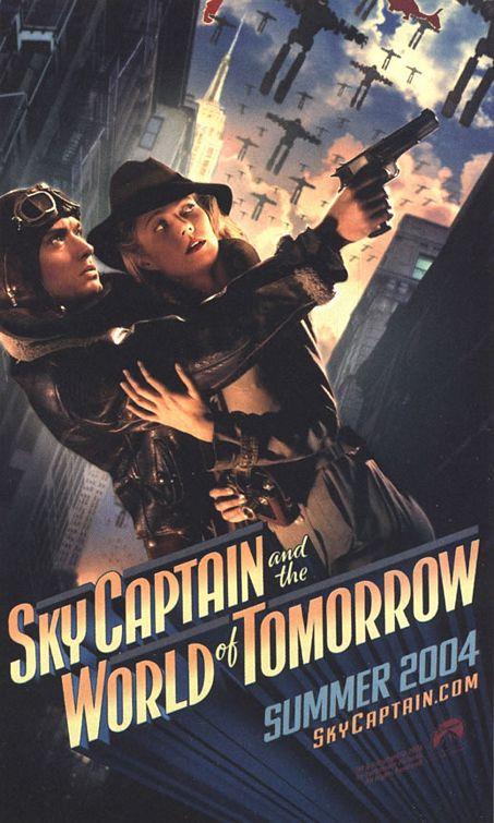 плакат фильма тизер Небесный капитан и мир будущего