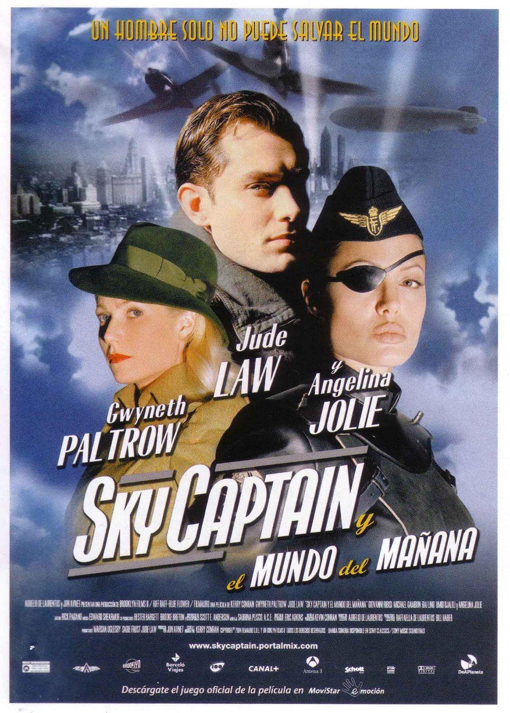 плакат фильма постер Небесный капитан и мир будущего