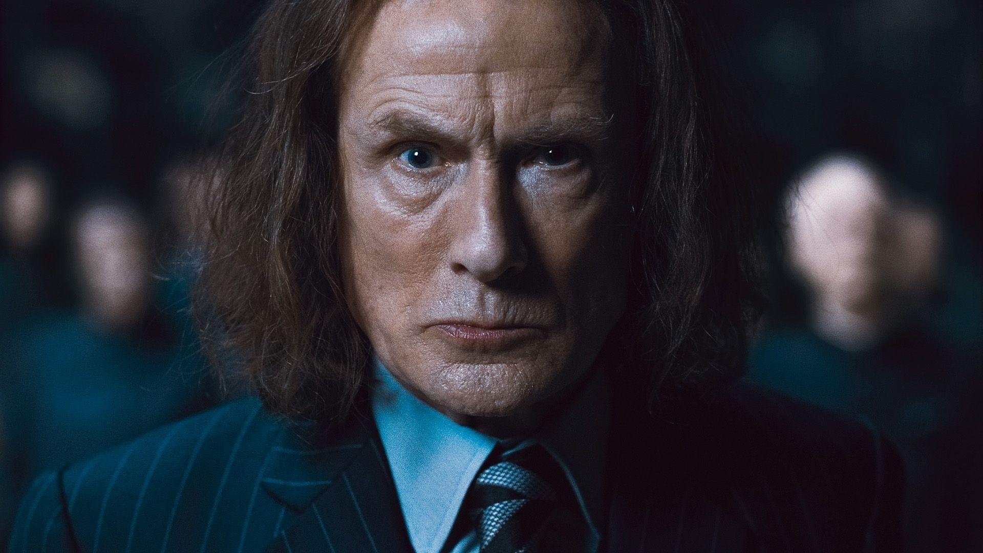 кадры из фильма Гарри Поттер и Дары Смерти: Часть первая Билл Найи,
