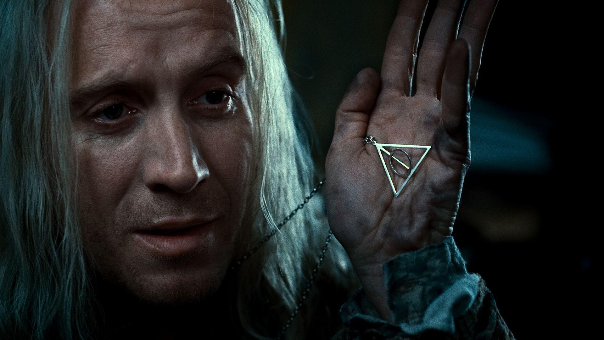 кадры из фильма Гарри Поттер и Дары Смерти: Часть первая Рис Ивэнс,