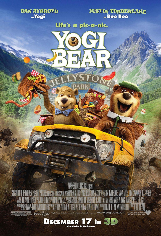 плакат фильма постер Медведь Йоги