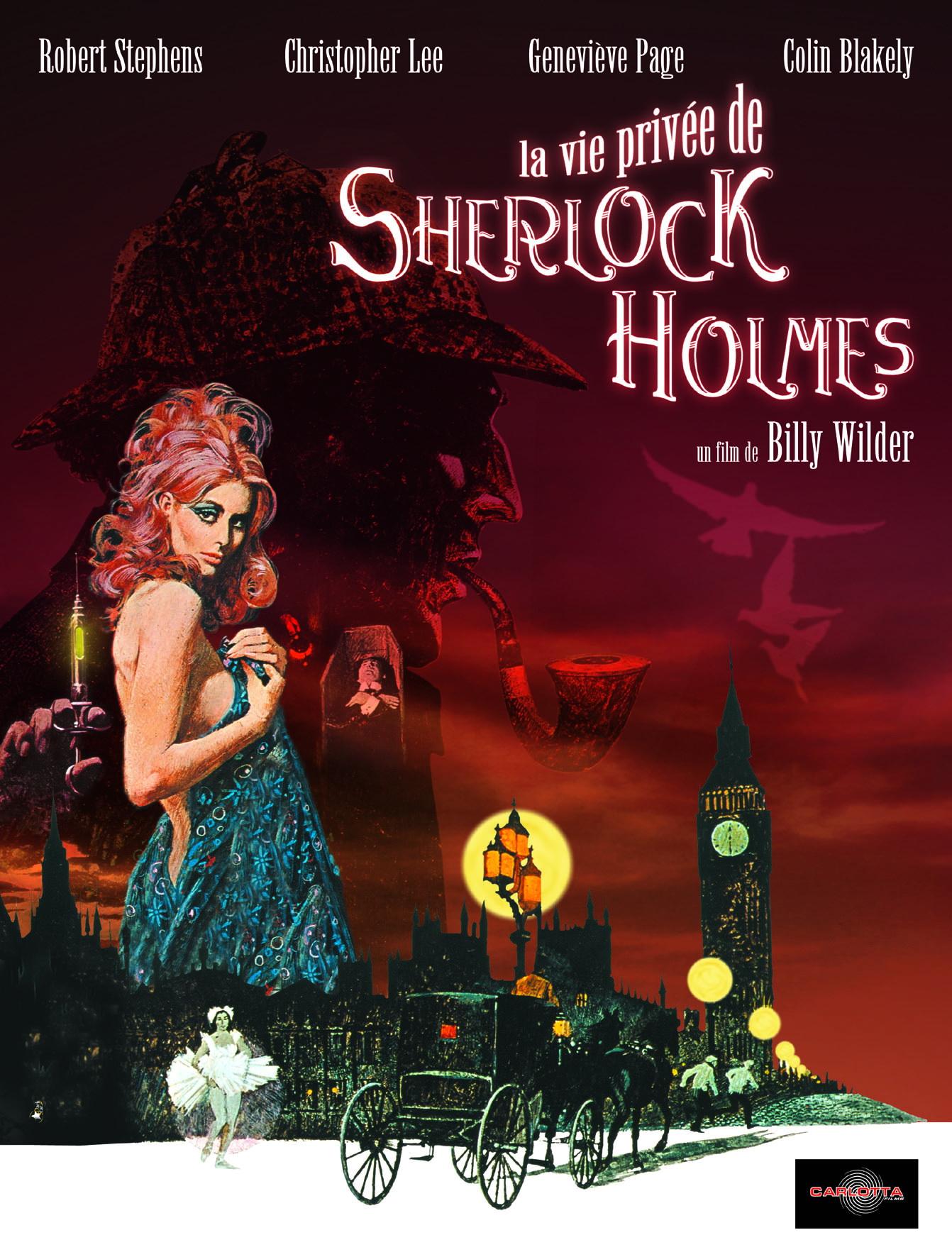 плакат фильма Частная жизнь Шерлока Холмса
