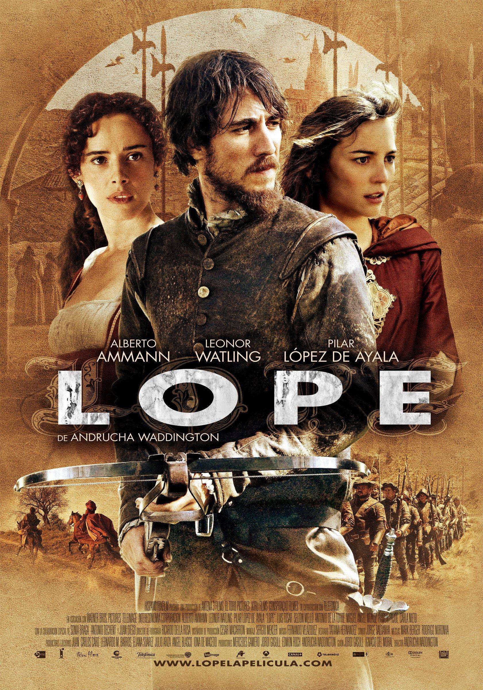 плакат фильма постер Лопе де Вега: Распутник и соблазнитель