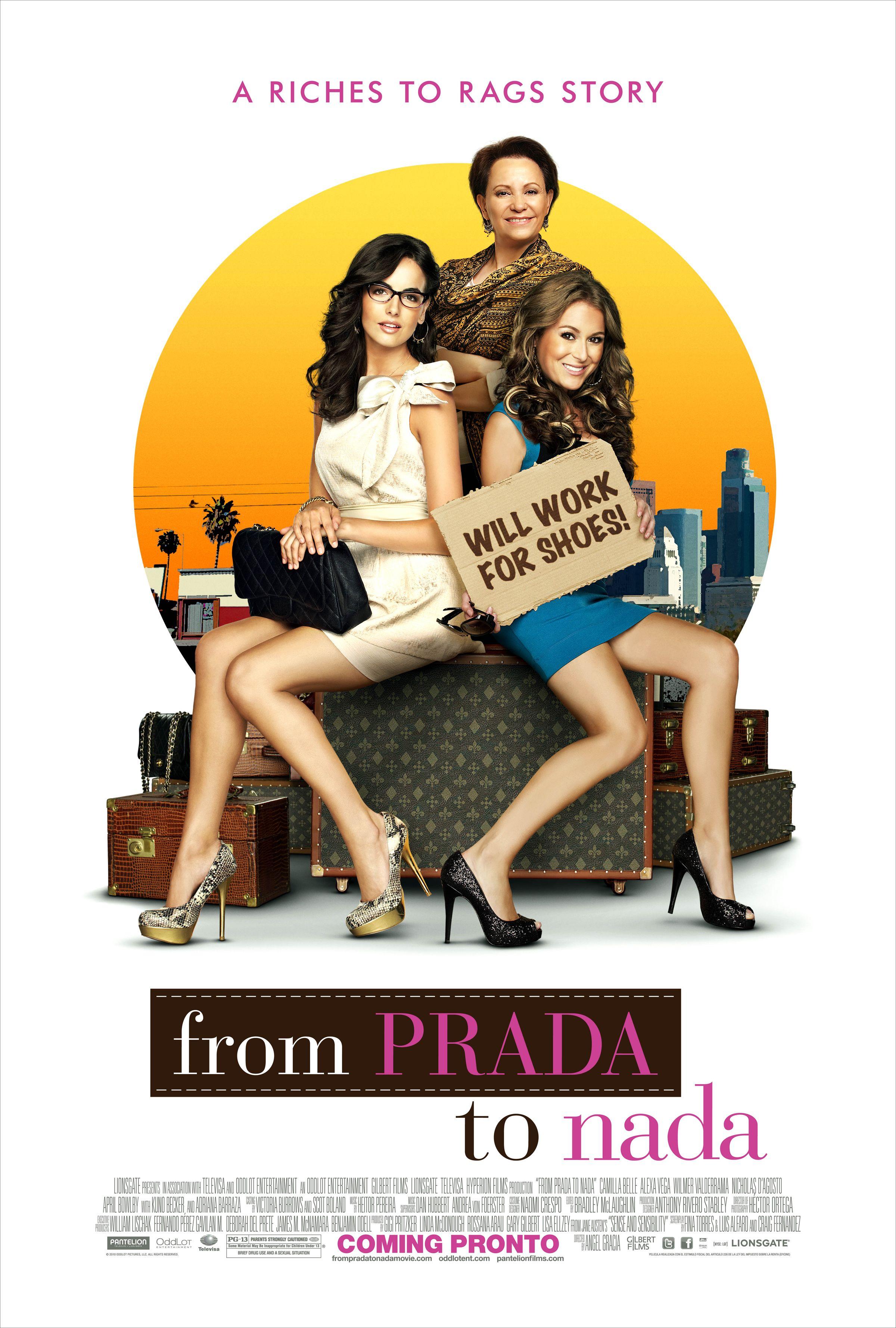 плакат фильма постер Prada и чувства