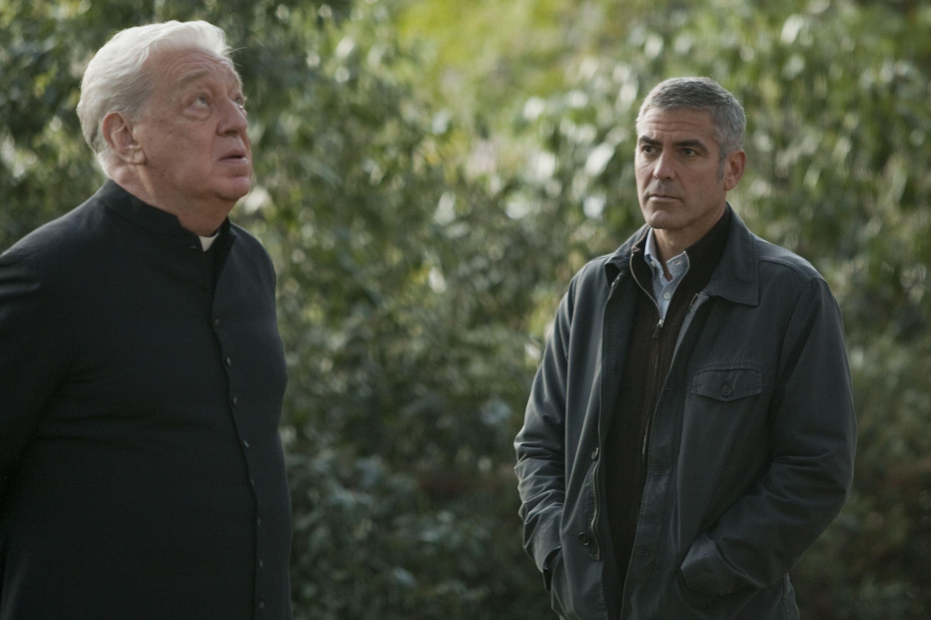 кадры из фильма Американец Паоло Боначелли, Джордж Клуни,