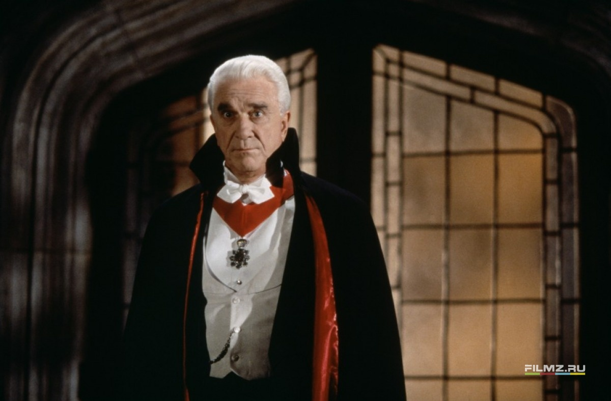 кадры из фильма Дракула: мертвый, но довольный Лесли Нильсен,