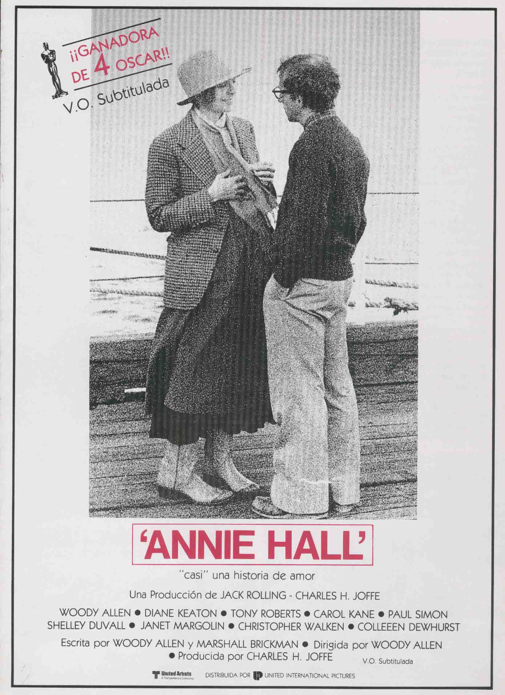 плакат фильма постер Энни Холл