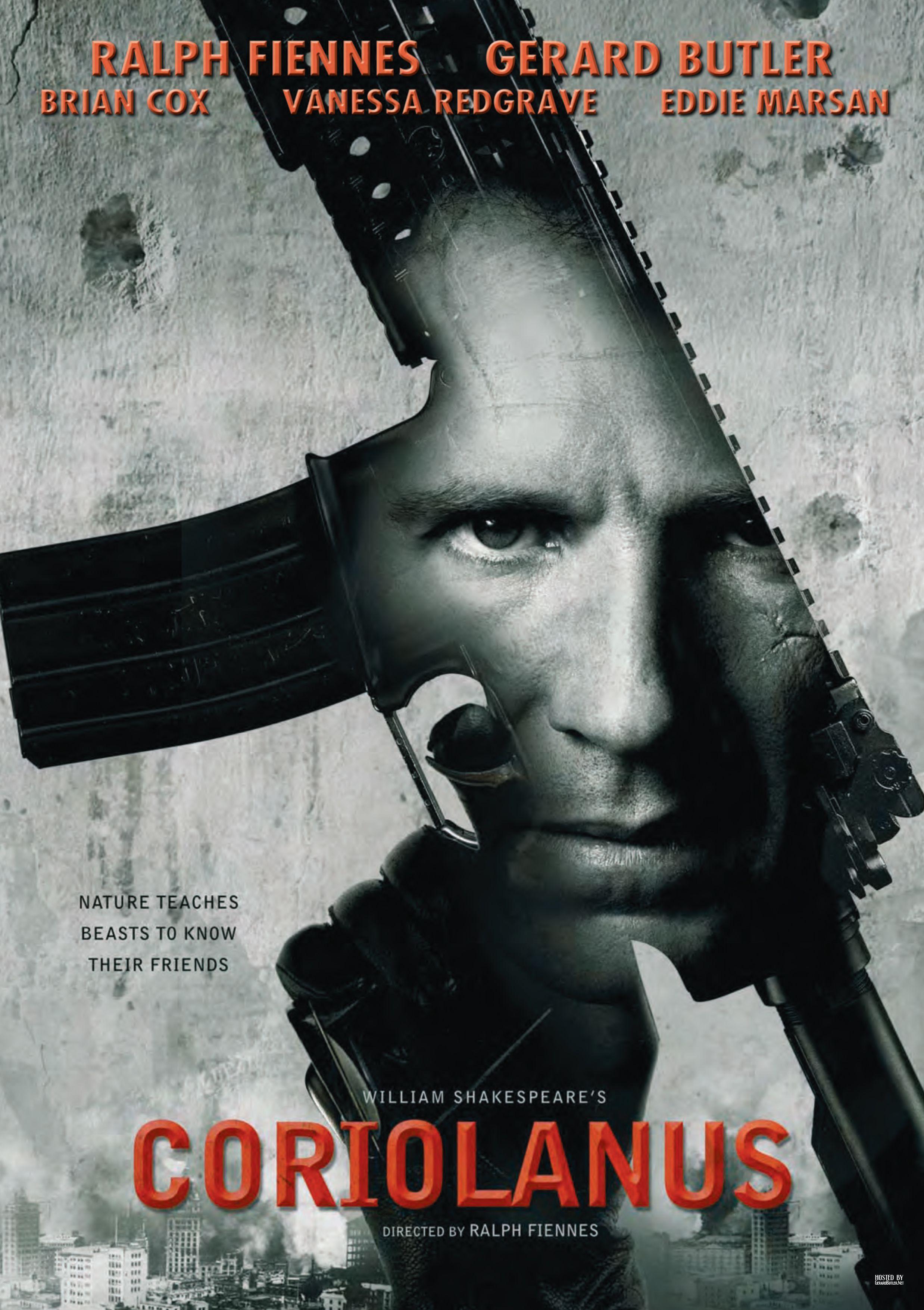плакат фильма сейлс-арт Кориолан