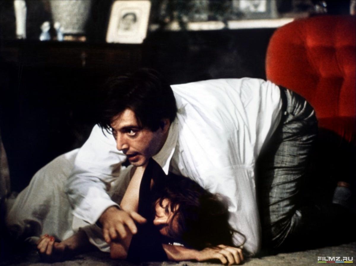 кадры из фильма Крестный отец, часть II Дайан Китон, Аль Пачино,