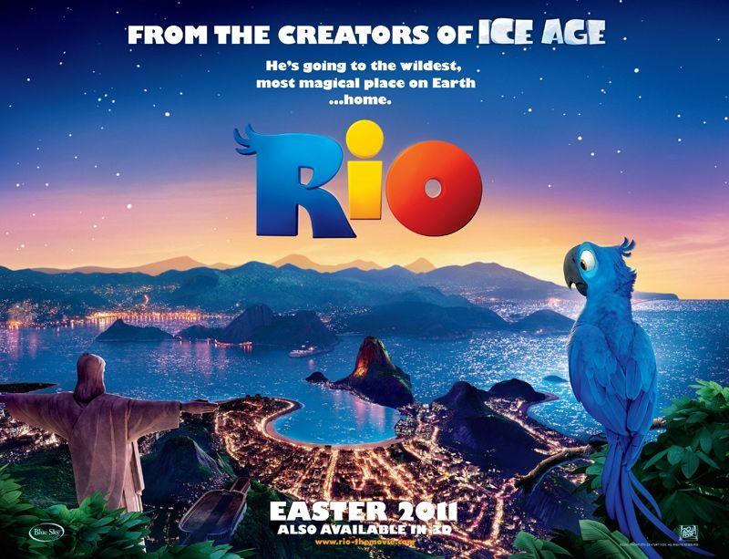 плакат фильма биллборды Рио