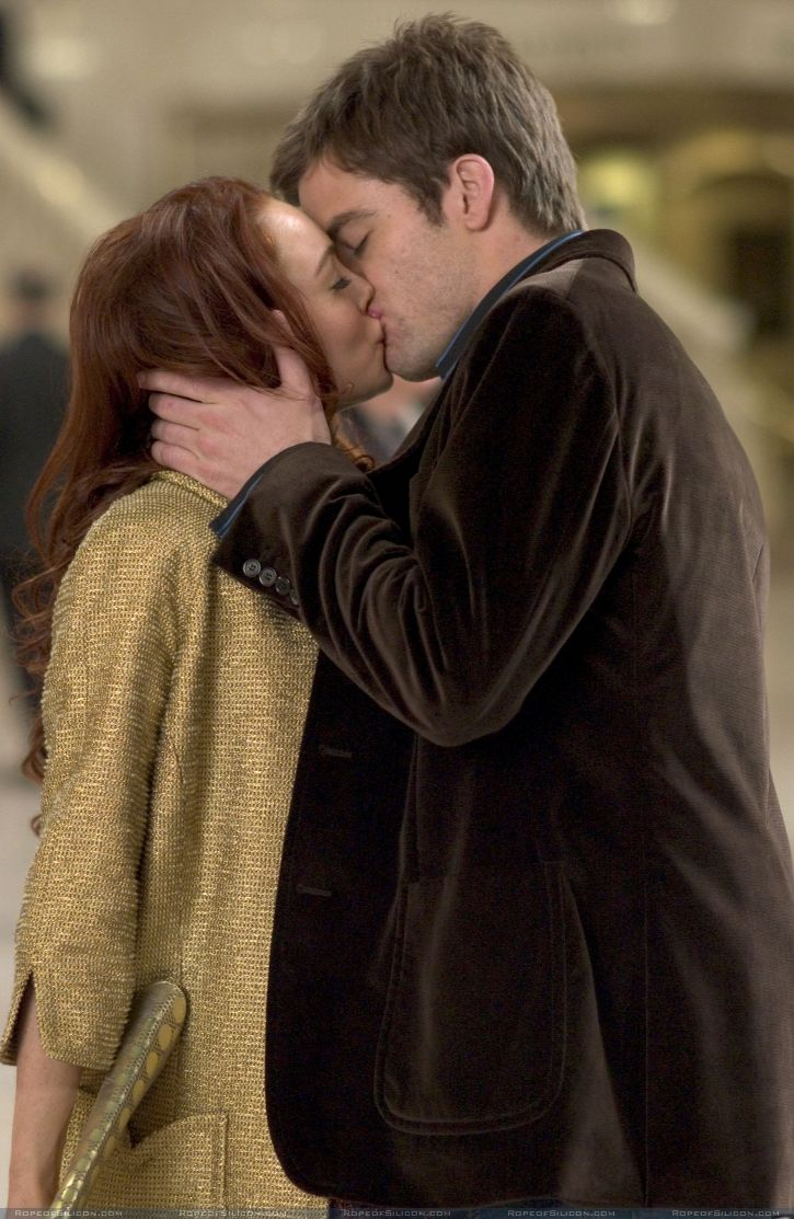 кадры из фильма Поцелуй на удачу
