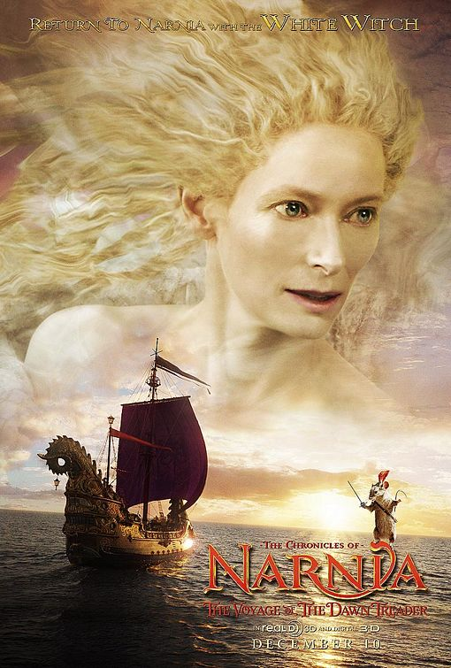 плакат фильма характер-постер Хроники Нарнии: Покоритель зари