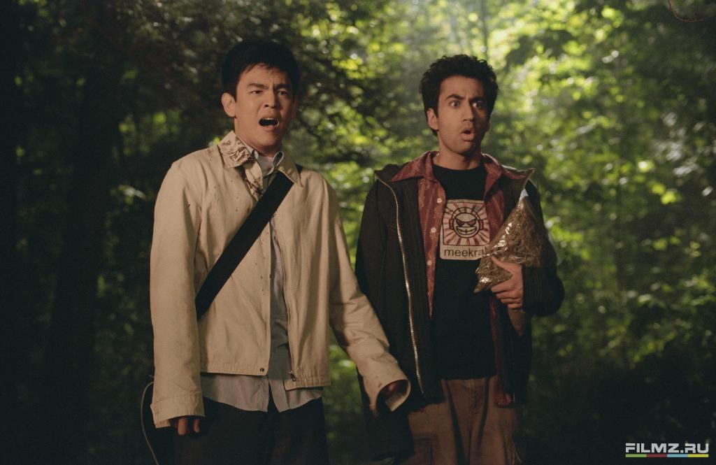 кадры из фильма Гарольд и Кумар уходят в отрыв Кал Пенн, Джон Чо,