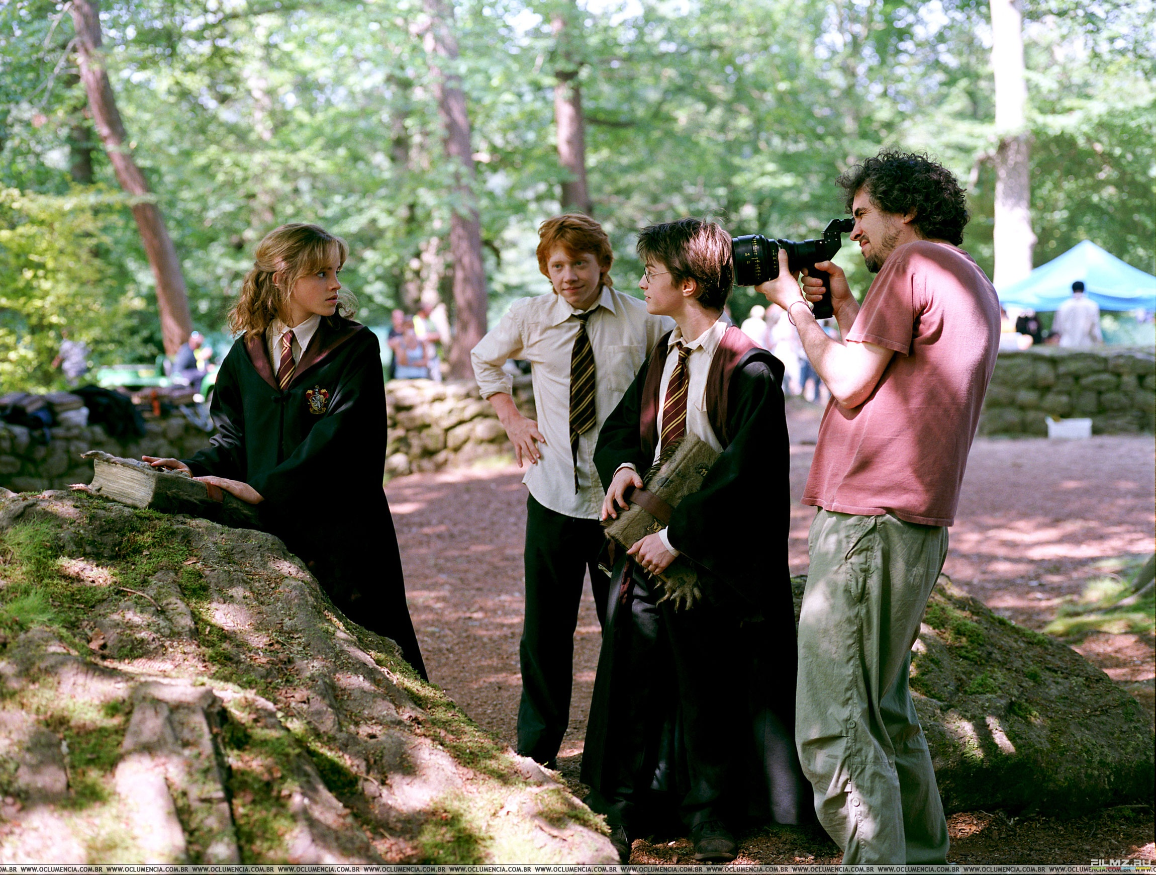 alfonso cuaron essay harry potter There's always bound to be some behind-the-scenes drama on set, and the harry potter movies, which filmed over ten years, are no exception.